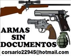 armas sin documentos