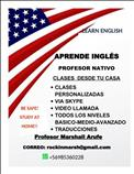 Profesor Nativo dicta clases ingles via online