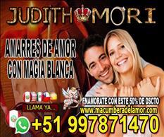 UNION DE AMOR CON MAGIA BLANCA JUDITH MORI +51997871470
