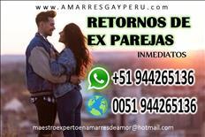 AMARRES DE AMOR POTENTES, RETORNOS DE EX PAREJAS
