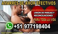 AMARRES DE AMOR Y DOMINIOS PODEROSOS WHATSAPP +51977198404