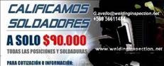 CERTIFICACION CALIFICACION DE SOLDADORES ENSAYOS NDT