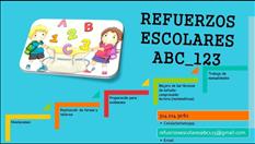 REFUERZOS ESCOLARES ABC-123