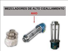 MEZCLADORES DE ALTO CIZALLAMIENTO