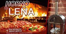 horno italiano de leña