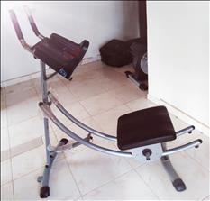 Máquina abdominal Abslider Fit Pro