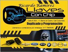 LLAVE CON CHIP RICARDO RAMÍREZ