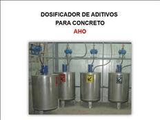 DOSIFICADOR DE ADITIVOS PARA CONCRETO