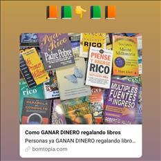 GANA DINERO REGALANDO LIBROS ON-LINE