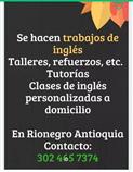 Ingles - Talleres y refuerzos de inglés Rionegro Antioquia