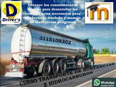 CURSO VIRTUAL  EN TRANSPORTE DE SUSTANCIAS PELIGROSAS