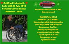 Por razones de salud vender mi auto! - BMW 320i Turbo 2.0