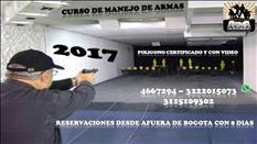 CURSO EN MANEJO DE ARMAS CORTAS PARA INDUMIL