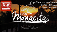 Casa Monacita Apartamentos, Playa Tamarindo