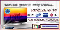 Taller de servicio técnico para pantallas de televisión