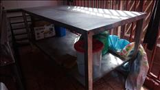 Se vende mesa de trabajo acero inoxidable