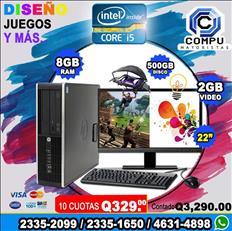 REGALE COMPUTADORAS COREi5 A TAN SOLO Q 3,290.00