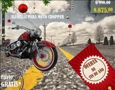 ALFORJAS PARA MOTO CHOPPER