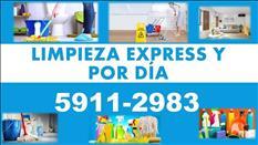 LIMPIEZA EXPRESS EN CASAS VACIAS Y APARTAMENTOS