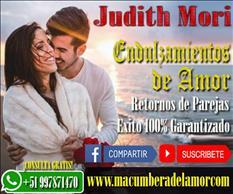ENDULZAMIENTO DE AMOR JUDITH MORI +51997871470
