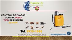Promocion en fumigacion