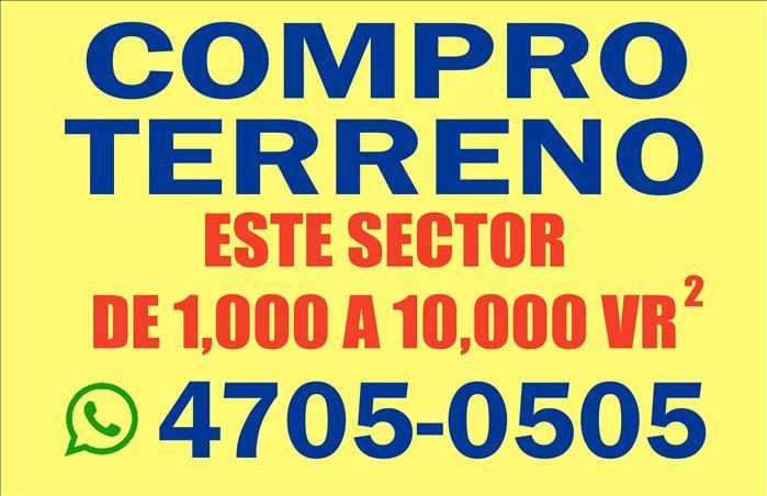 COMPRO TERRENOS EN
