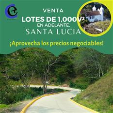 Venta de terrenos en Santa Lucia Francisco Morazan HN