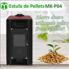 Estufa de pellets MOD. MK-P04