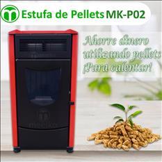 Estufa de pellets MOD. MK-P02