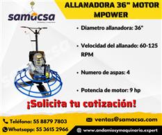 "Allanadora Mpower 36"" de diametro"