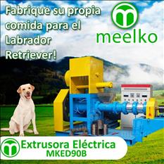 MKED090B Extrusora para pellets alimentacion perros