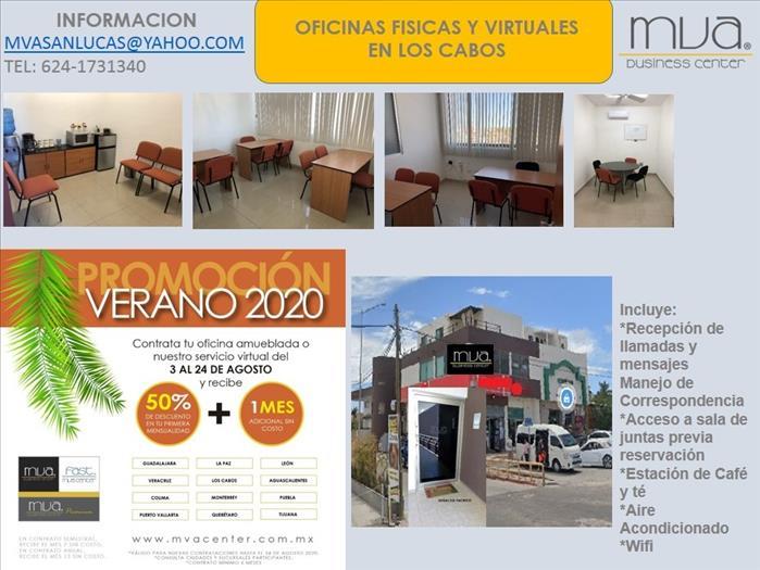 OFICINAS CON PROMOCION DE VERANO