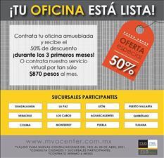 RENTA OFICINAS AMUEBLADAS EN PUERTA DE HIERRO