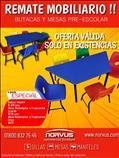 Remate de mesas infantiles trapezoidales