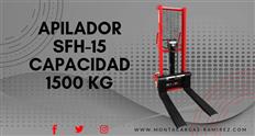 Apilador montacargas manual Marca McLane Modelo SFH15