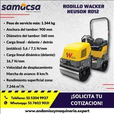 Rodillo Wacker RD12