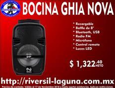 BOCINA GHIA NOVA