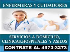 Agencia de Enfermeras  y Cuidadores a domicilio en la CDMX