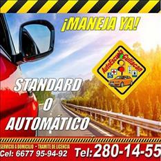 Te urge manejar, aqui tu mejor opción Autoescuela Culiacán