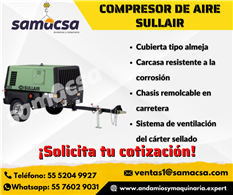 Compresor de Aire Sullair