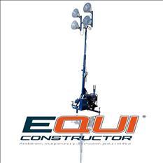 Torre de iluminación 4 focos Mpower TI4000SL