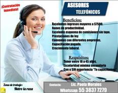 Ejecutivos call center