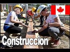 trabajo en canada area construccion