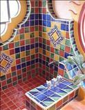 Azulejo tile artesanal mosaico recubrimientos