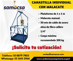 Canastilla individual colgante