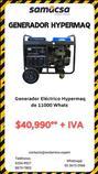 Generador 11,000 whats