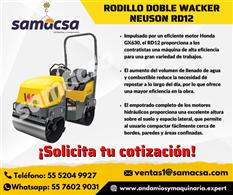 Rodillo doble Wacker Nueson