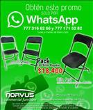 Venta de sillas plegables para alquiler