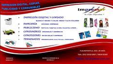 IMPRESIÓN DIGITAL Y PUBLICIDAD.