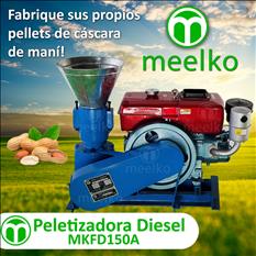 Meelko Peletizadora para alfalfas MKFD150A